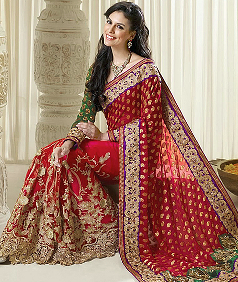 abe41838e39 Bridal Sarees - Online Shopping India